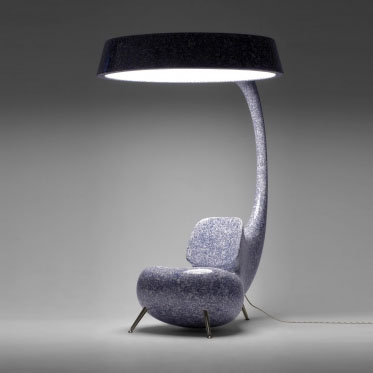 chair with light small upholstered swivel rocking lighting up
