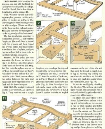 free wood furniture plans
