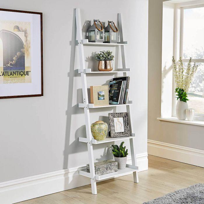 Ladder Shelf Unit Big Furniture Warehouse