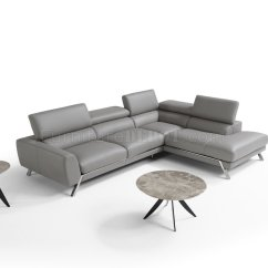 Grey Leather Sectional Sofa With Recliners Pet Bed Pink Mood Power Reclining In By J Andm