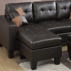 Espresso Bonded Leather Reclining Sofa Loveseat Set Rimelig Pa Nett F6927 Sectional In By Boss