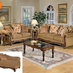 Acme Sectional Sofa Chocolate Sofaworks Reading Contact Number Furniture Chantelle 2 Piece Set In Antiqued