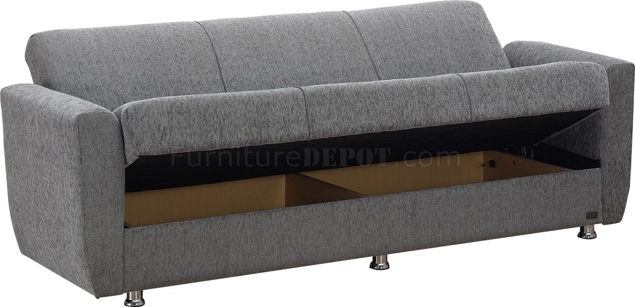buy sofa bed new york leather cleaners in mumbai niagara convertible grey fabric w options by empire