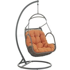 Swing Chair Office How To Hook Up A Gaming Arbor Outdoor Patio Wood By Modway Choice Of Color