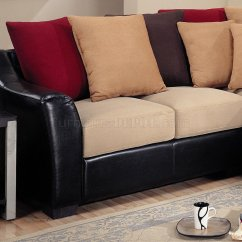 Vinyl Sectional Sofa Bassett Leather 3 Pc Townsend Collection Black