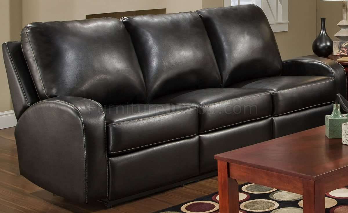 swivel reclining chairs for living room types of black bonded leather modern double sofa ...
