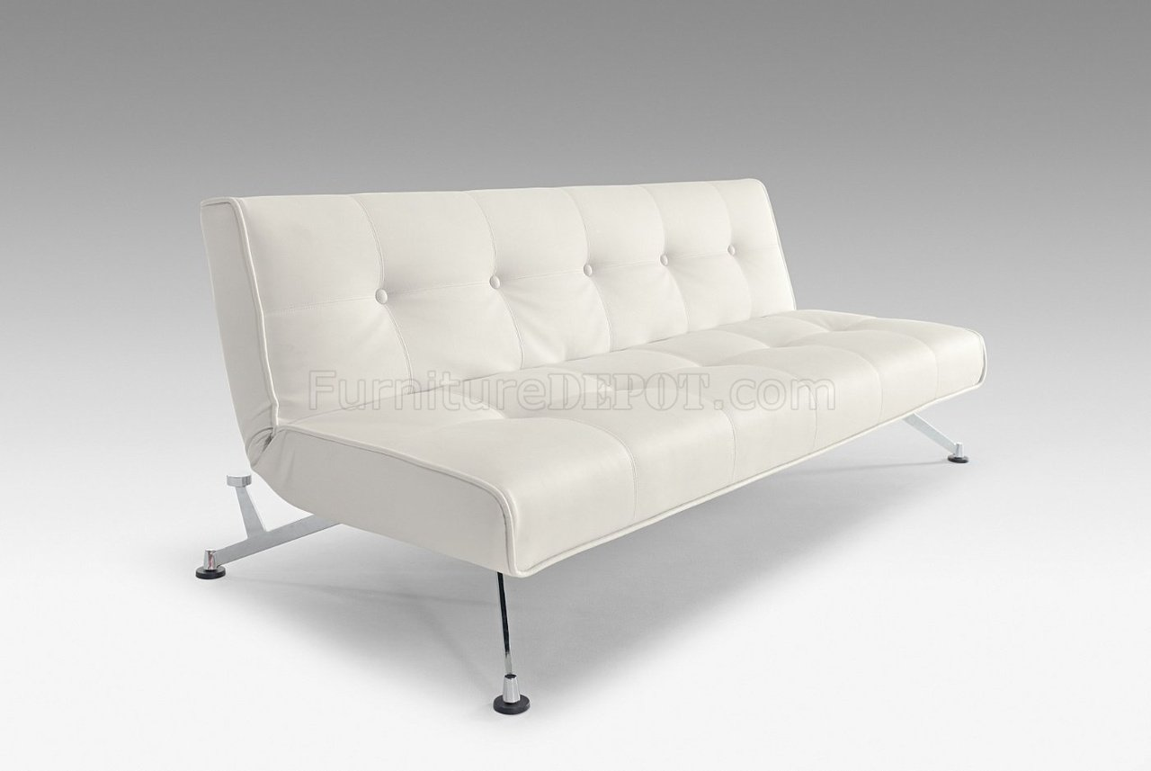clubber sofa bed types of sofas images white full leatherette modern convertible w