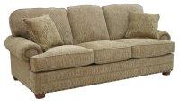 Sand Chenille Fabric Modern Sofa & Loveseat Set w/Optional ...
