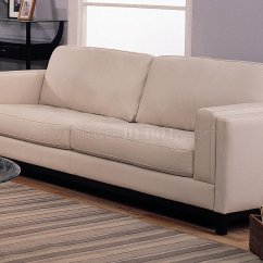 Io Metro Sofa Review Ebay Uk Italian Leather Sofas Contemporary Living Room 502461 Cream