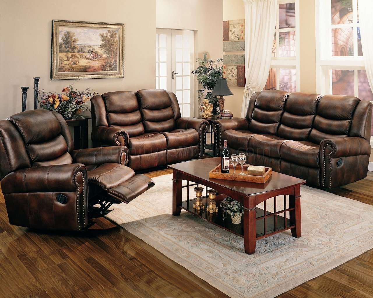 living room arrangements with sectionals couch and four chairs brown leather like fabric reclining sofa w/options