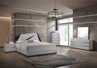 Scarlett Bedroom Set in Grey by Global w/Options