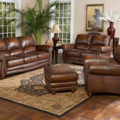 Rustic Leather Sofa Set West Elm Uk Italia Parker And Loveseat W Options