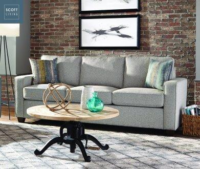 Brownswood 506531 Scott Living Coaster Grey Sofa