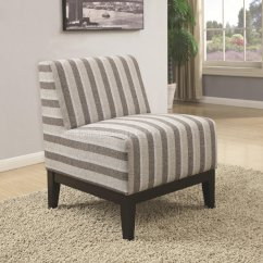 2 Accent Chairs Alite Butterfly Chair 902610 Set Of In Striped Fabric By Coaster