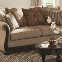 Coaster Bachman Sofa Reviews Cleo Beasley In Brown Fabric 505241 By W Options
