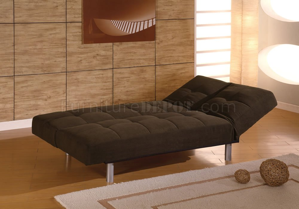 Contemporary Sleeper Sofa Convertable To Chase