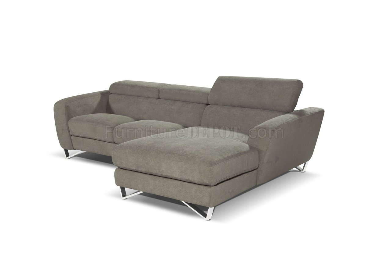 spartan sofa diy reupholstering sparta mini sectional in fabric by j andm w steel legs