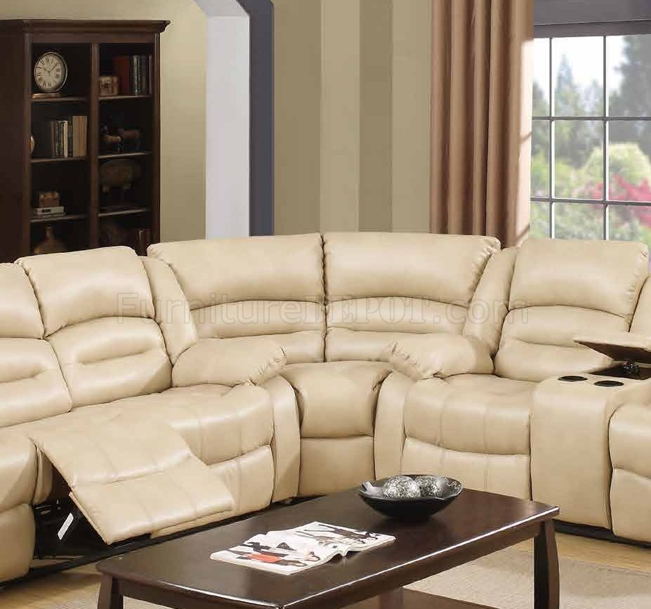 recliner chairs for kids ikea chair covers tullsta 9243 reclining sectional sofa in cream bonded leather w/options