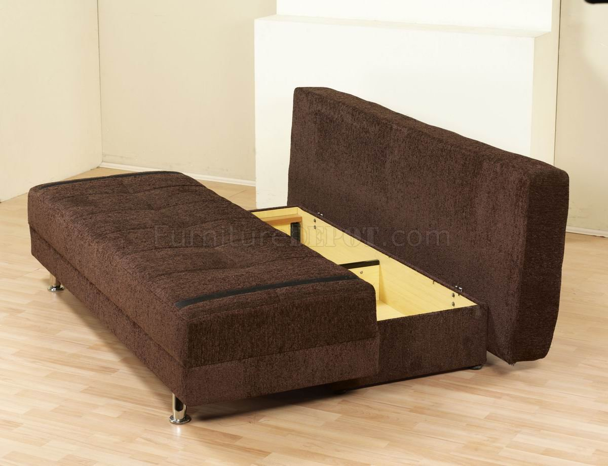 corner sofa metal legs camden collection dark brown fabric modern bed convertible w