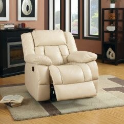 Ivory Leather Office Chair Lowes Card Table And Chairs Barbado Reclining Sofa Cm6827 In Match W Options