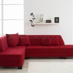 Red Fabric Sofa Manufacturers Edinburgh Sectional 2 Roselawnlutheran