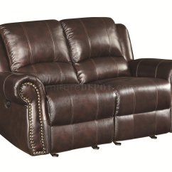 Motion Sofas Leather Sofa Box Type 650161p Sir Rawlinson Power In Brown Match