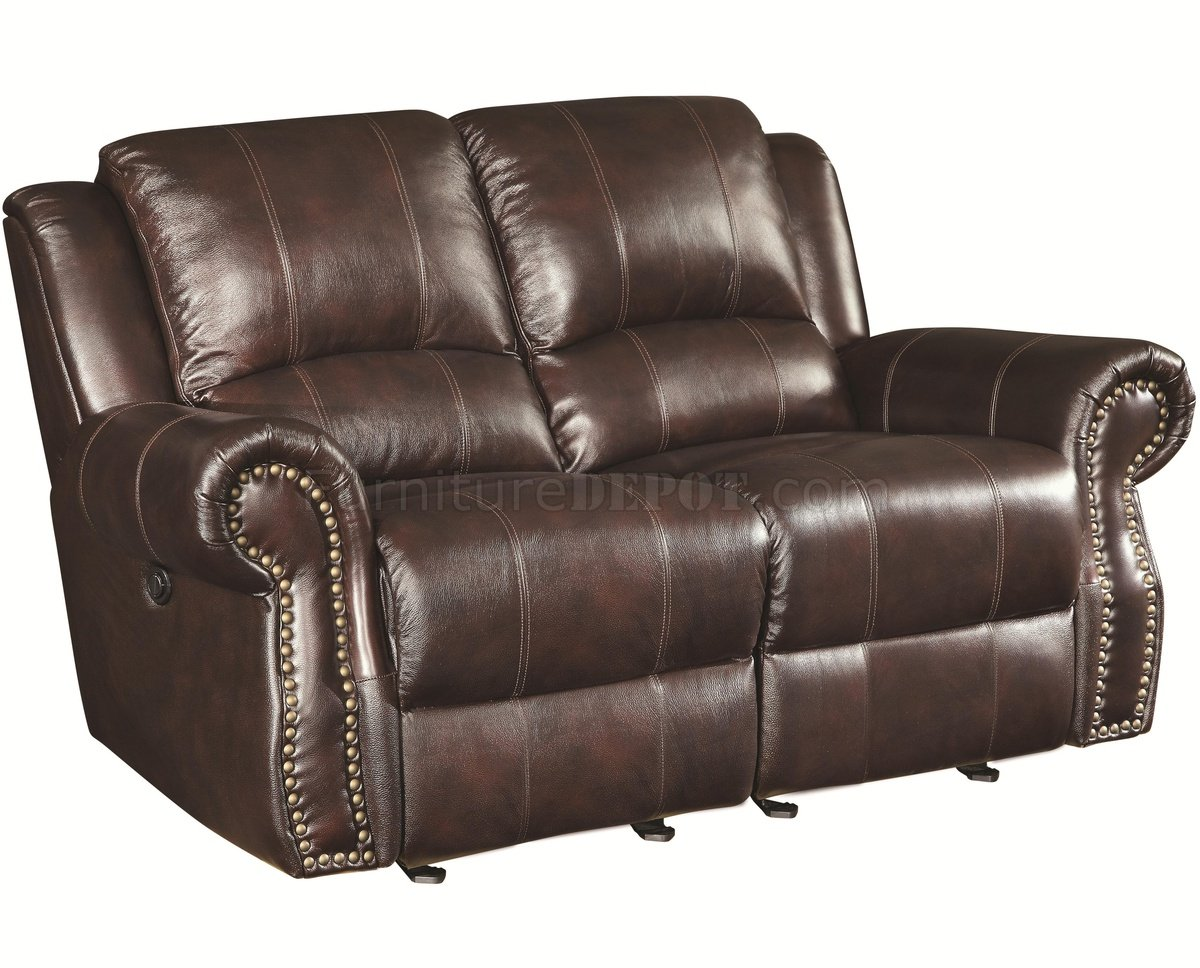 reclining club chair lift aldi 650161p sir rawlinson power motion sofa in brown leather match