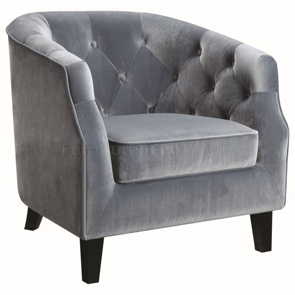 dark blue velvet accent chair ikea patio cushions 902711 in dusty fabric by coaster