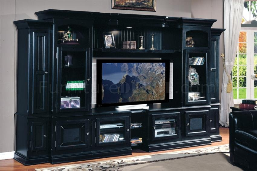 Vintage Black Transitional Copper Canyon Wall Unit