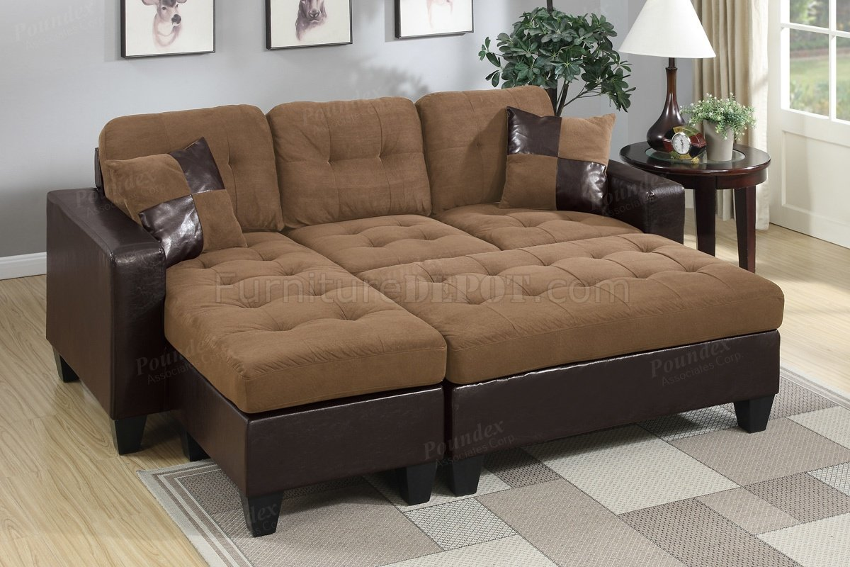 sectional sofas microfiber fabric loose fit sofa covers uk f6929 in saddle by boss