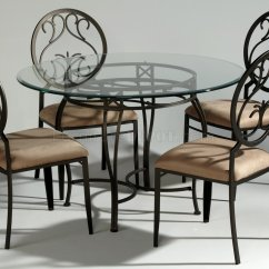 Dining Table With Metal Chairs Folding Chair Covers For Wedding Dark Champagne Modern W Optional