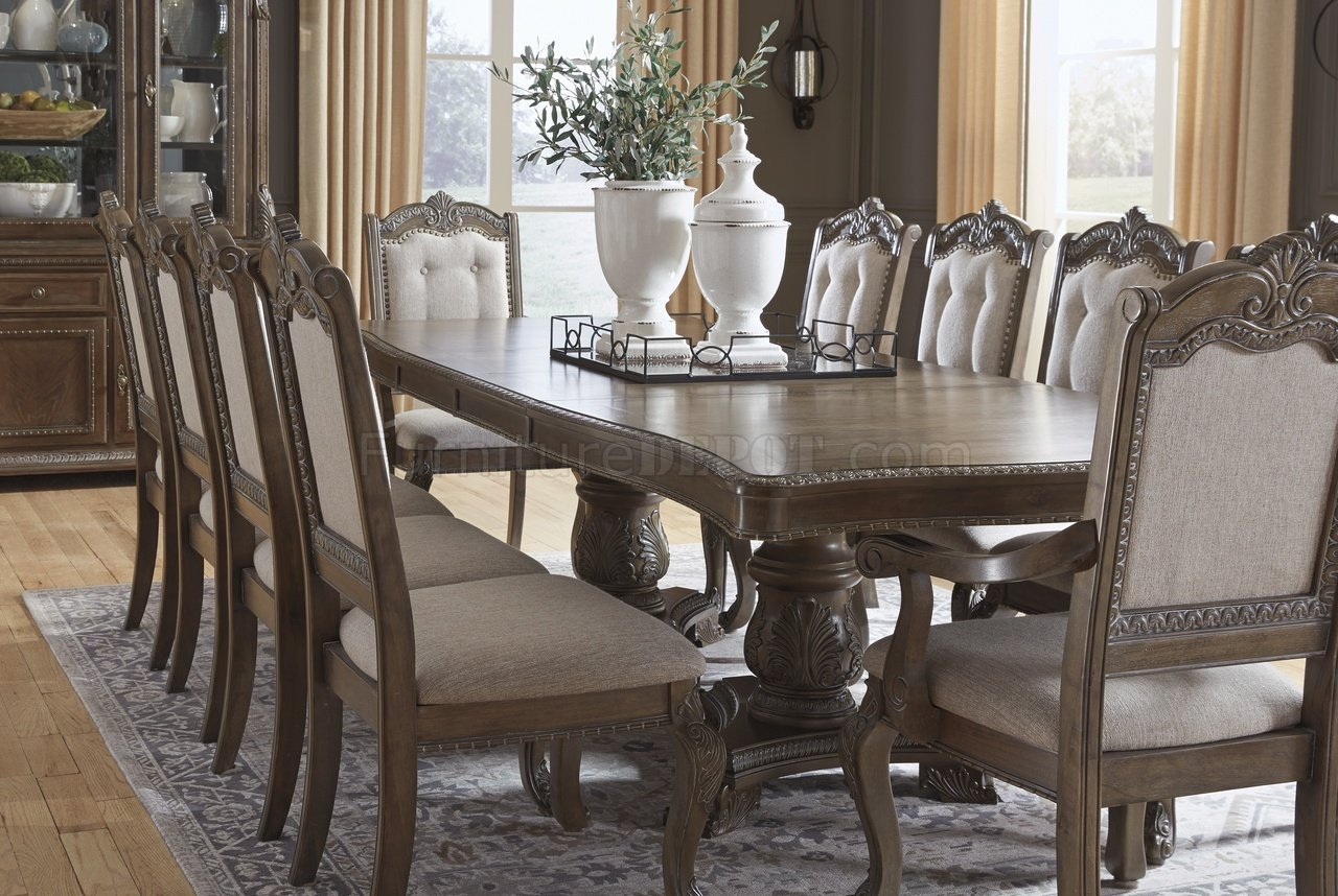 Charmond Dining Table D803 Brown By Ashley Furniture W
