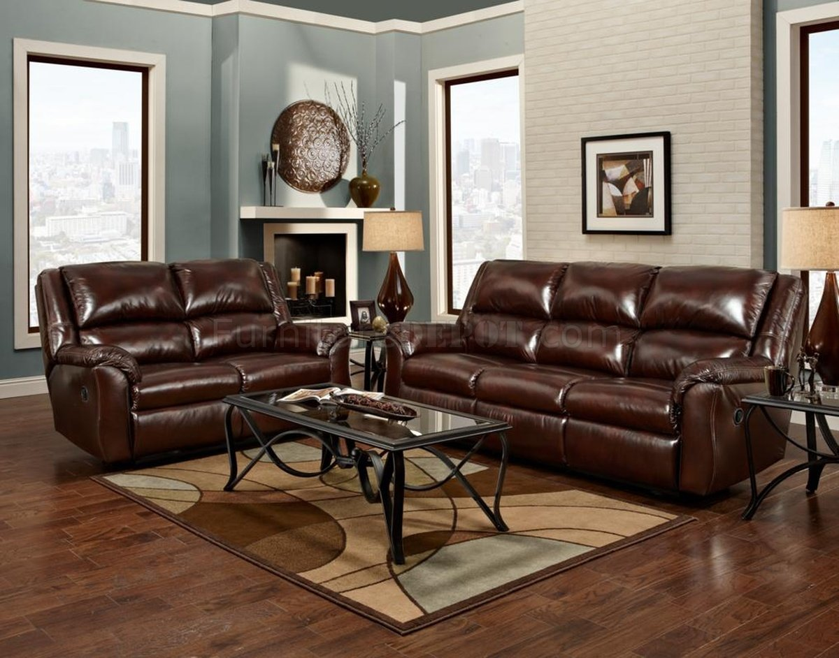 chestnut colored leather sofa cover with fabric 191260 berks reclining bonded by chelsea