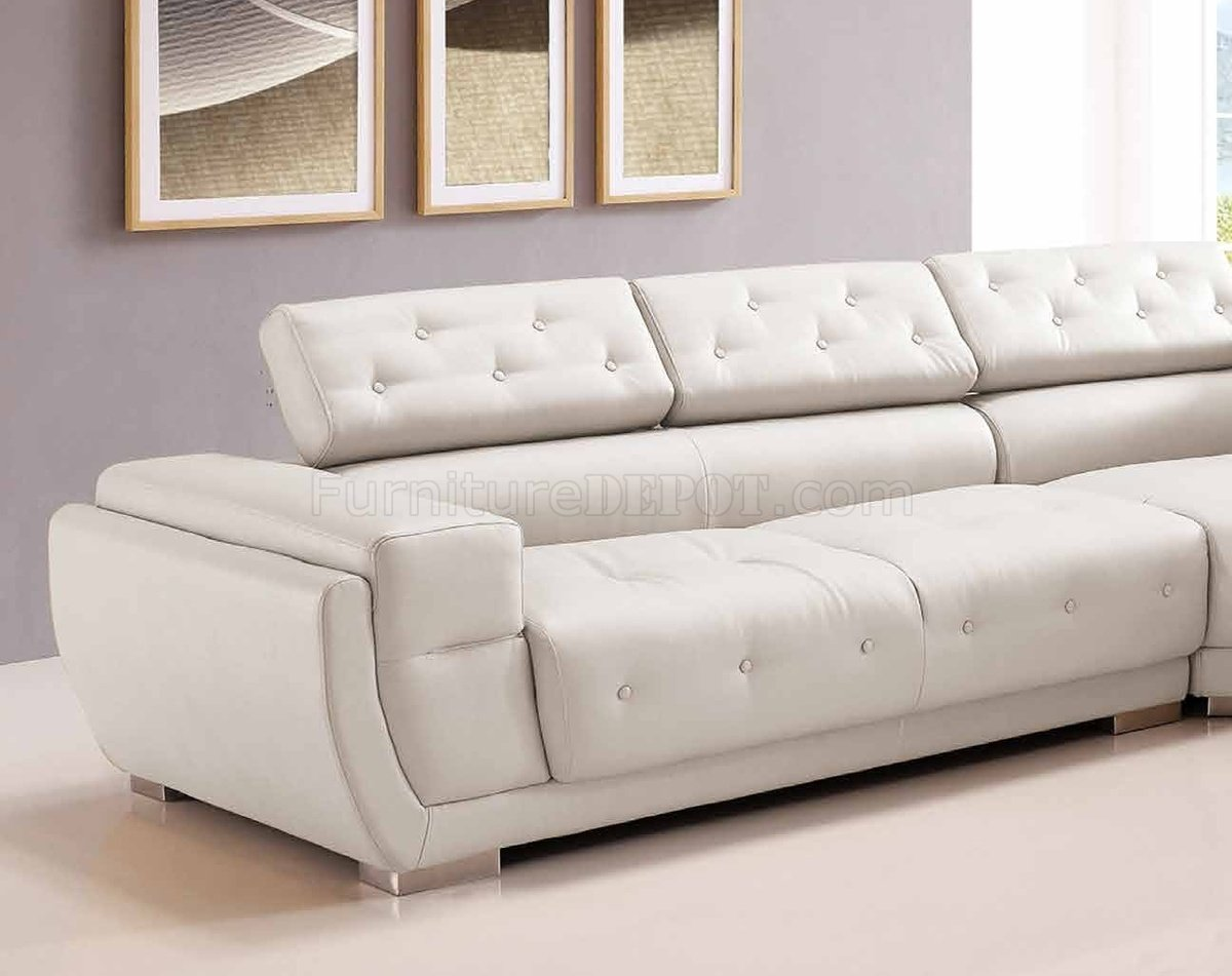 white bonded leather sectional sofa set with light toronto kijiji 8097 in