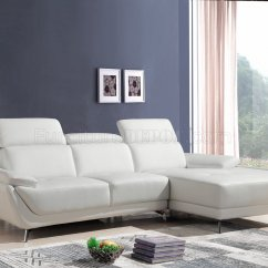 Sterling Sofa Old Hickory Table Sectional 1716 In White Eco Leather By Vig
