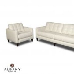 Albany Industries Leather Sofa Bed Bath And Beyond Pillows Furniture At Depot