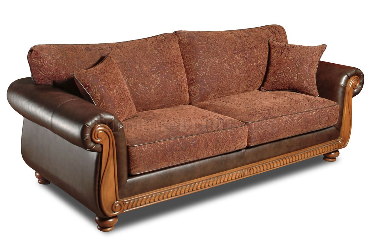 material and leather sofa cheap sectional sofas under 300 brown fabric traditional loveseat set w faux