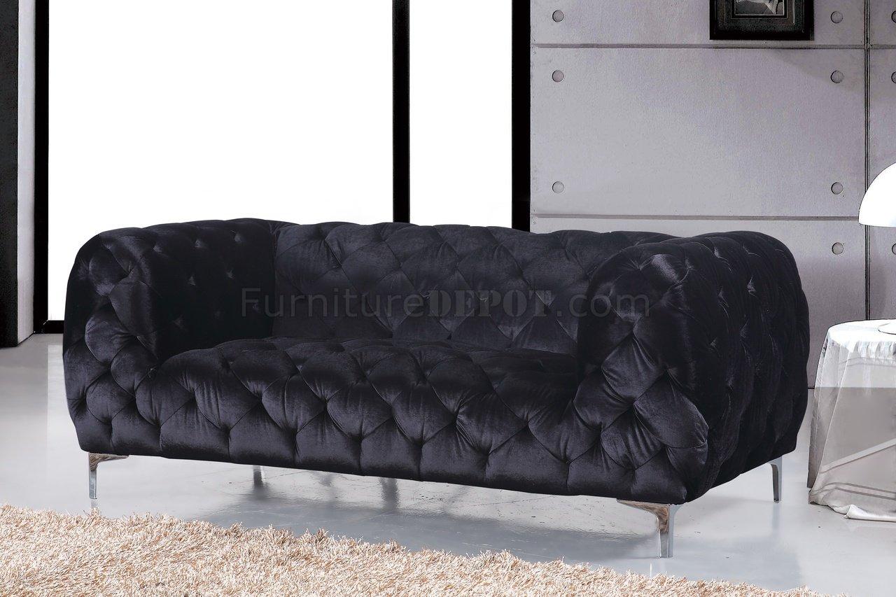 black velvet sofa living room furniture tables mercer 646bl in fabric w optional items