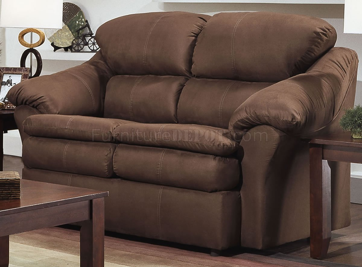 modern pillows for sofas reclining sofa high quality chocolate microfiber and loveseat set w pillow arms