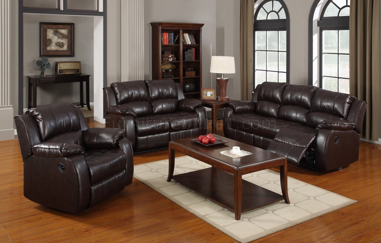 brown leather sofa grey walls best furniture reviews 7263 power reclining in dark bonded w