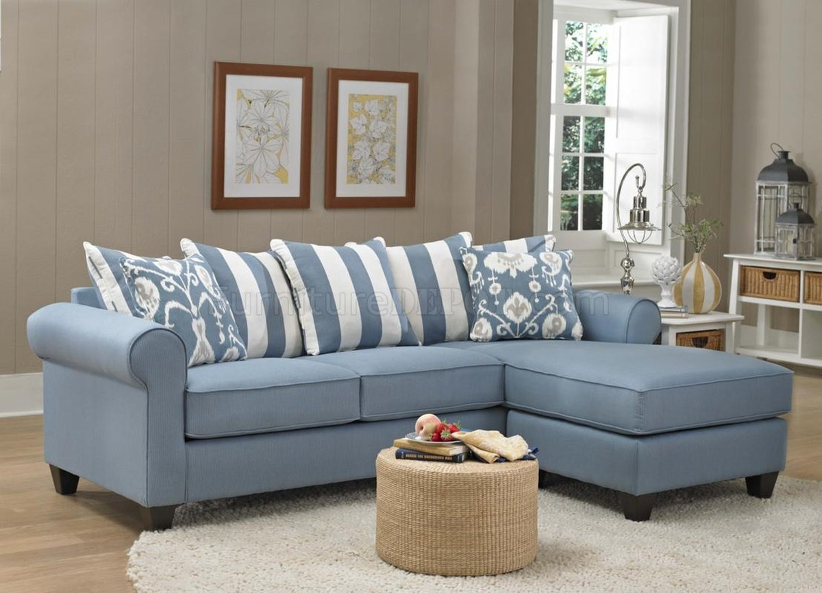 light blue sofa decorating ideas calico 347710 ivy chaise in fabric by chelsea