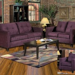 Ivory Sofa Set Sofasworld Co Uk Reviews 5900 Heather & Loveseat In Eggplant Fabric By Chelsea