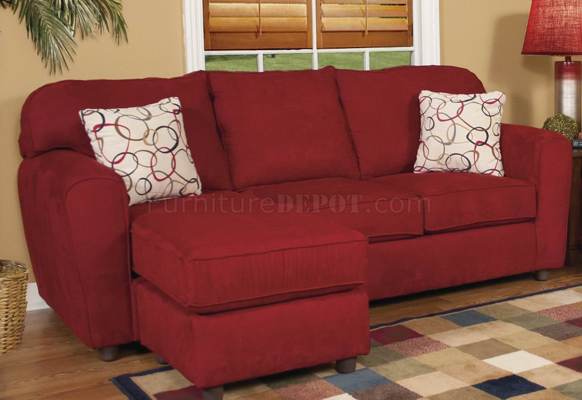 red fabric sofa sofas 4 less livermore modern and loveseat set w options
