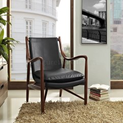 Modway Office Chair Short Slipcovers Makeshift Lounge In Black Leather By