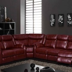 Maroon Office Chairs Revolving Chair For U9303 Motion Sectional Sofa In Burgundy By Global