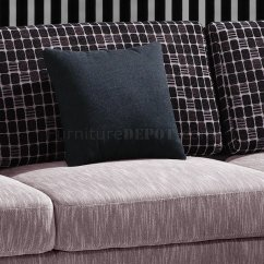 Sectional Sofas Microfiber Fabric Leather Sofa Overstock Beige Upholstery Modern