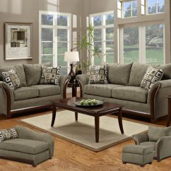 Sage Leather Sofa Omnia Prices Green Fabric Modern & Loveseat Set W/optional Items