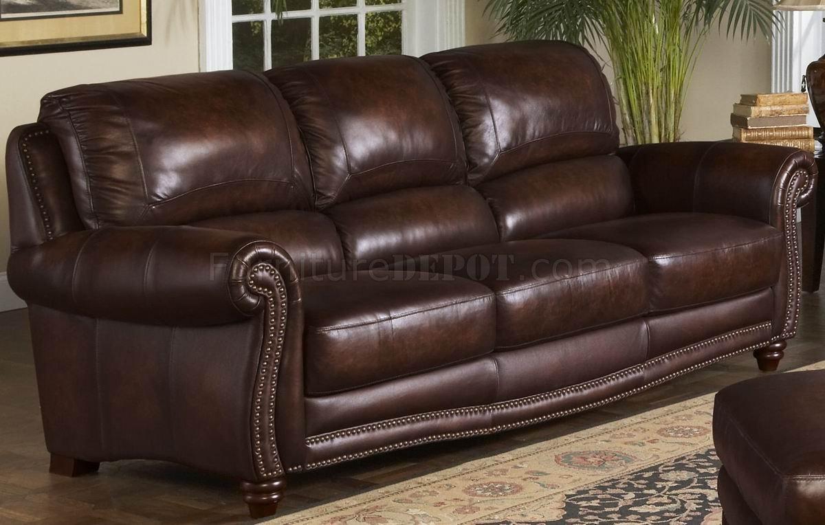 leather italia sofa furniture vintage bed tobacco james loveseat set w options