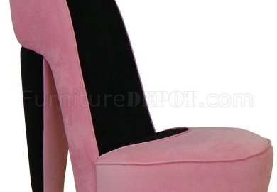 Pink High Heel Chair