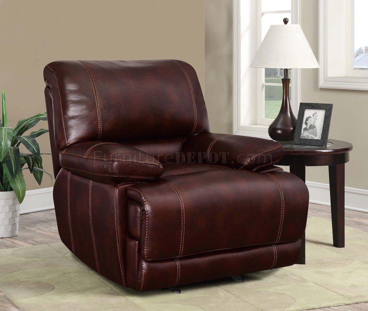 espresso bonded leather reclining sofa loveseat set snuggle bed u1953 in coffee global